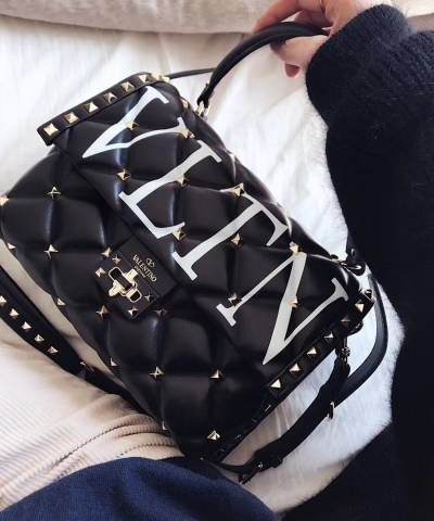Сумка Valentino VLTN Candystud Top Handle Bag